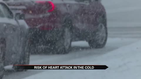 Cold weather increases your risk of a heart attack